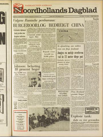 Noordhollands Dagblad : dagblad voor Alkmaar en omgeving 1967-08-04