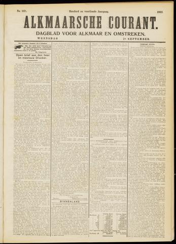 Alkmaarsche Courant 1912-09-18