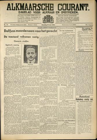 Alkmaarsche Courant 1934-07-31
