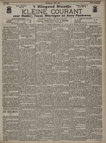 Vliegend blaadje : nieuws- en advertentiebode voor Den Helder 1907-05-08