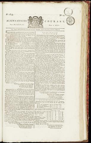 Alkmaarsche Courant 1833-05-27