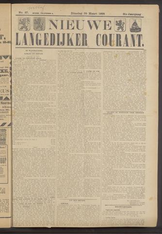 Nieuwe Langedijker Courant 1922-03-28
