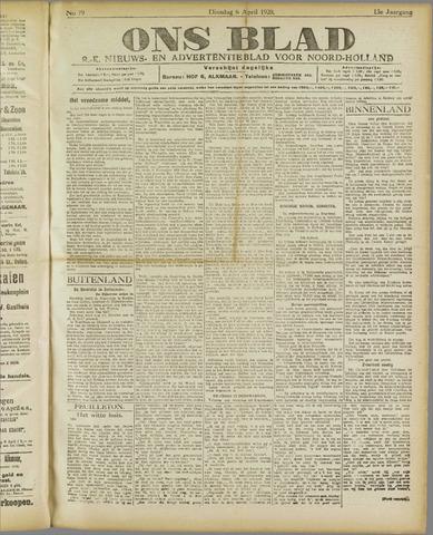 Ons Blad : katholiek nieuwsblad voor N-H 1920-04-06