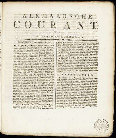 Alkmaarsche Courant 1816-02-12