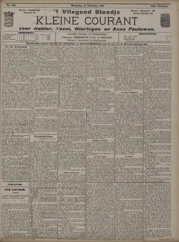 Vliegend blaadje : nieuws- en advertentiebode voor Den Helder 1908-11-25