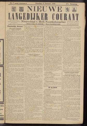 Nieuwe Langedijker Courant 1928-01-17