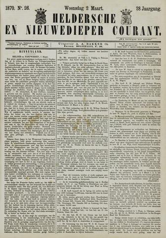 Heldersche en Nieuwedieper Courant 1870-03-02