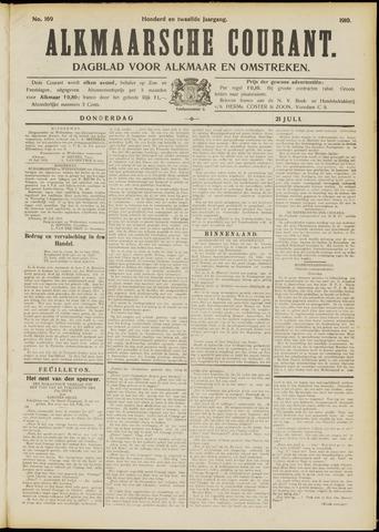 Alkmaarsche Courant 1910-07-21