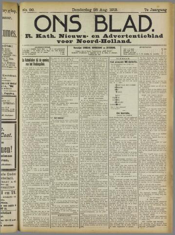 Ons Blad : katholiek nieuwsblad voor N-H 1913-08-28