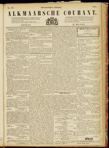 Alkmaarsche Courant 1879-03-23