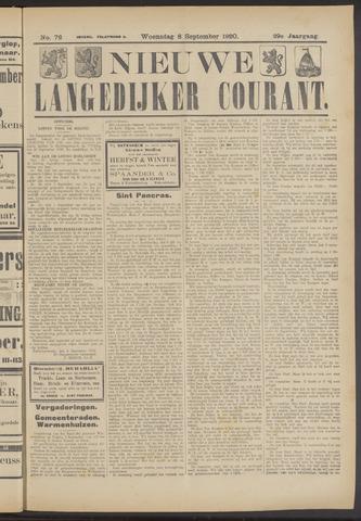 Nieuwe Langedijker Courant 1920-09-08