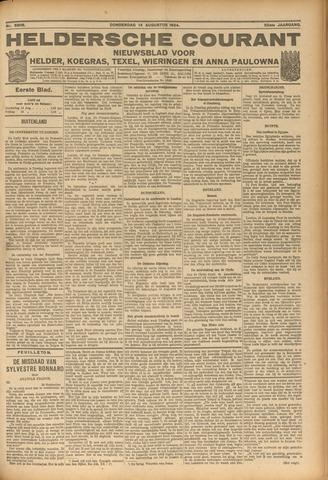 Heldersche Courant 1924-08-14