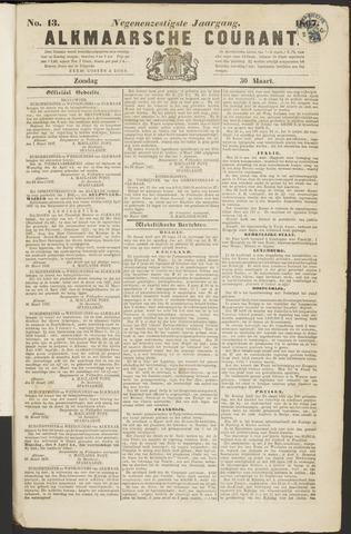 Alkmaarsche Courant 1867-03-31