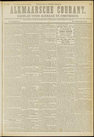 Alkmaarsche Courant 1919-09-13