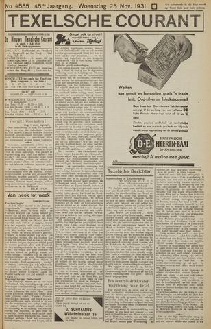 Texelsche Courant 1931-11-25