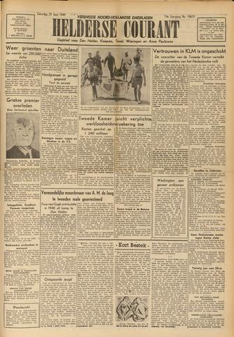 Heldersche Courant 1949-06-25