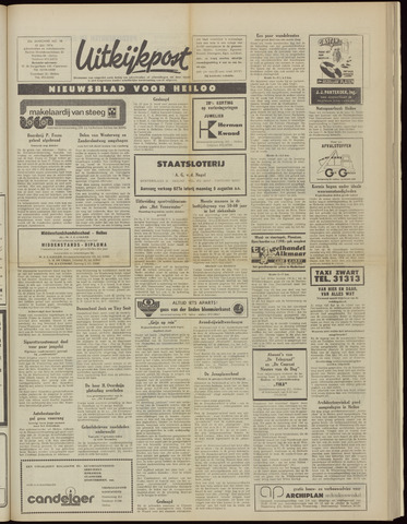 Uitkijkpost : nieuwsblad voor Heiloo e.o. 1974-07-31