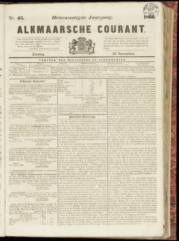 Alkmaarsche Courant 1861-11-10