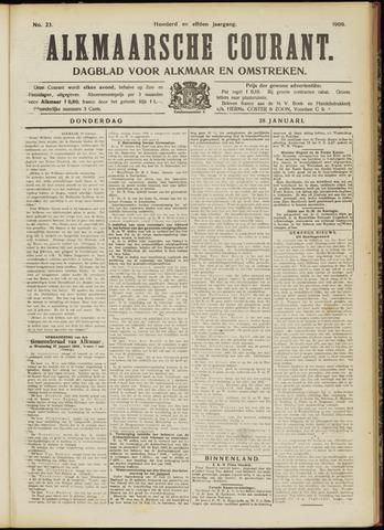 Alkmaarsche Courant 1909-01-28