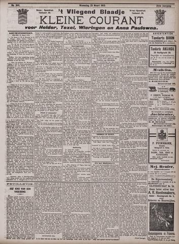 Vliegend blaadje : nieuws- en advertentiebode voor Den Helder 1903-03-25