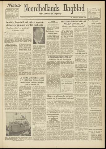 Nieuw Noordhollandsch Dagblad : voor Alkmaar en omgeving 1948-01-10