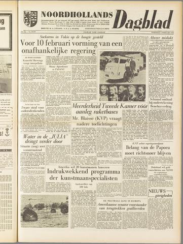 Noordhollands Dagblad : dagblad voor Alkmaar en omgeving 1958-02-05
