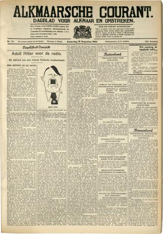 Alkmaarsche Courant 1934-08-18
