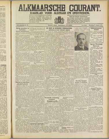 Alkmaarsche Courant 1941-01-27