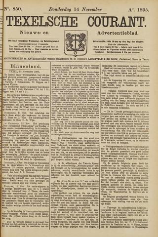 Texelsche Courant 1895-11-14