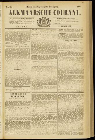 Alkmaarsche Courant 1895-02-22