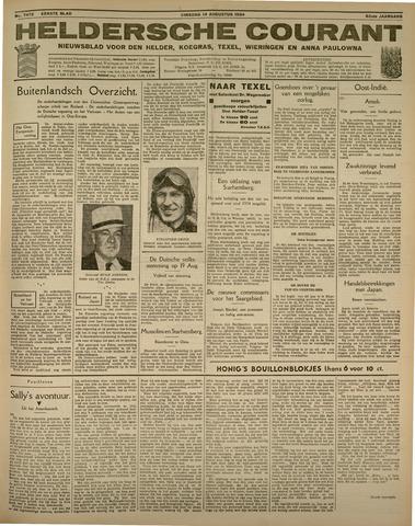 Heldersche Courant 1934-08-14