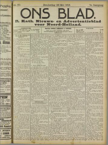 Ons Blad : katholiek nieuwsblad voor N-H 1913-05-29
