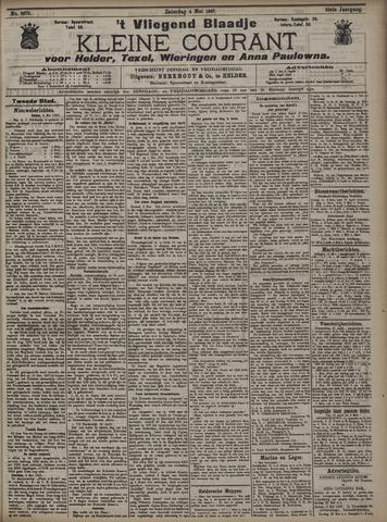 Vliegend blaadje : nieuws- en advertentiebode voor Den Helder 1907-05-04