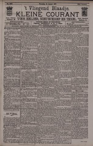 Vliegend blaadje : nieuws- en advertentiebode voor Den Helder 1897-01-13
