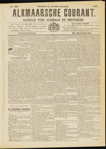 Alkmaarsche Courant 1905-12-28