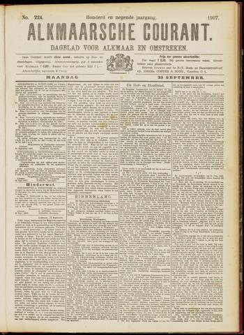 Alkmaarsche Courant 1907-09-23
