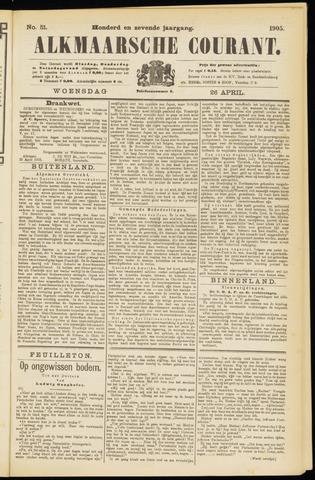 Alkmaarsche Courant 1905-04-26