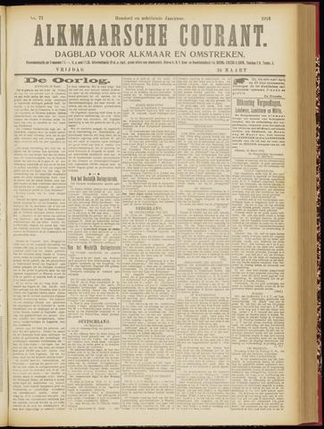 Alkmaarsche Courant 1916-03-24