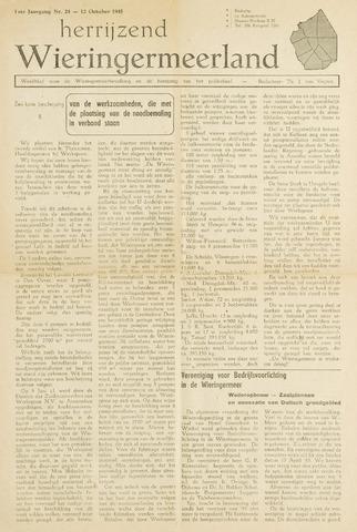 Herrijzend Wieringermeerland 1945-10-12