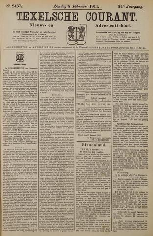 Texelsche Courant 1911-02-05