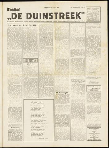 De Duinstreek 1958-12-30