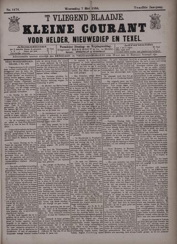 Vliegend blaadje : nieuws- en advertentiebode voor Den Helder 1884-05-07