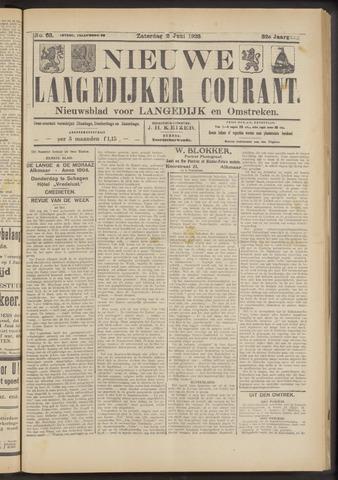 Nieuwe Langedijker Courant 1923-06-02