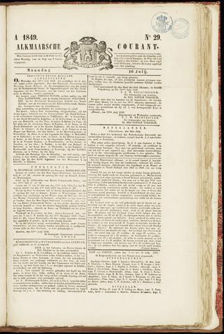 Alkmaarsche Courant 1849-07-16