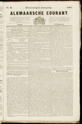 Alkmaarsche Courant 1864-02-28