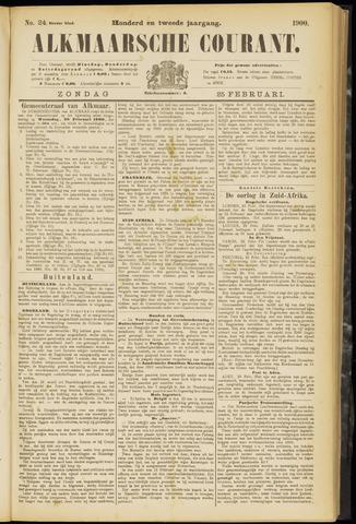 Alkmaarsche Courant 1900-02-25