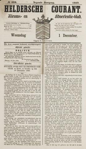 Heldersche Courant 1869-12-01