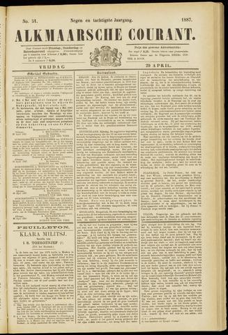 Alkmaarsche Courant 1887-04-29