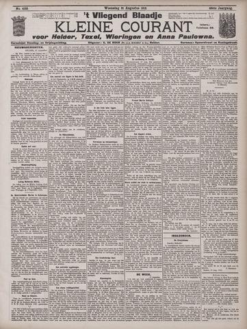Vliegend blaadje : nieuws- en advertentiebode voor Den Helder 1912-08-21