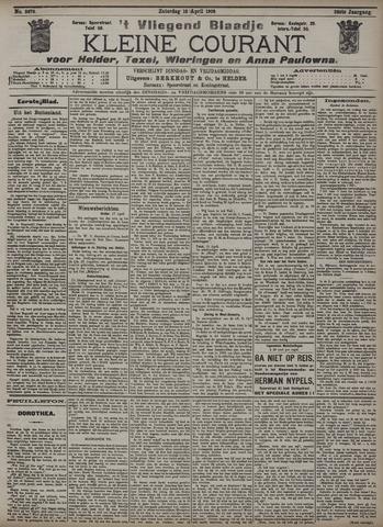 Vliegend blaadje : nieuws- en advertentiebode voor Den Helder 1908-04-18